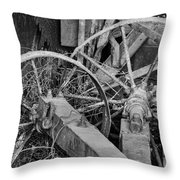 Palouse Farm Wheels 3156 Throw Pillow
