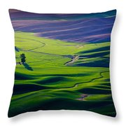 Palouse - Later Afternoon Throw Pillow