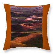 Palouse Undulation Throw Pillow