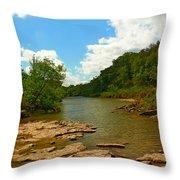 Paluxy River Throw Pillow