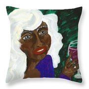 PAM Throw Pillow