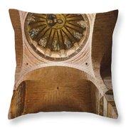 Pammakaristos Church Interior Throw Pillow