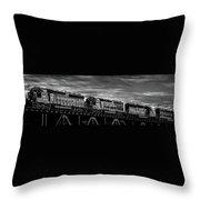 Pan Am Railways 618 616 609 Throw Pillow by Bob Orsillo