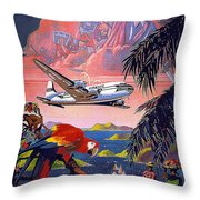 Pan American   Throw Pillow