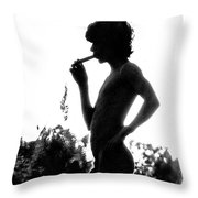 Pan In The Brush Throw Pillow