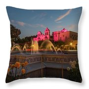 Panama Fountain Throw Pillow