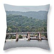 Panama045 Throw Pillow