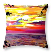 Panama.pacific Sunrise Throw Pillow