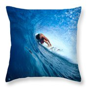 Pancho In The Tube Throw Pillow
