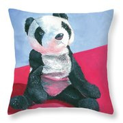 Panda 1 Throw Pillow
