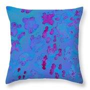 Panda Fur-abstract Throw Pillow