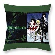Pandora Hearts Throw Pillow