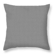 Pandora's Puzzle Greys Throw Pillow