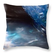 Panel One From Swirl Throw Pillow