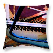 Panel Three From Star Factory Throw Pillow