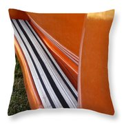 Panel Truck Running Board Throw Pillow