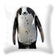 Panguin Throw Pillow