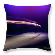 Panned Movement Throw Pillow
