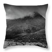 Panorama From Slievenaglogh Throw Pillow