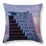 Hotel Panorama Resort Throw Pillow