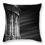 Panorama Of Roma Throw Pillow