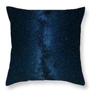 Panorama Of The Milky Way Throw Pillow