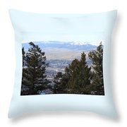 Panoramic Picture Throw Pillow