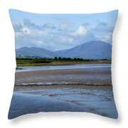 Panoramic View Blennerville Throw Pillow
