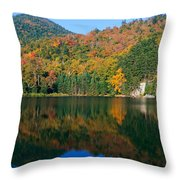 Panoramic View Of Crawford Notch State Throw Pillow