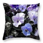 Violas Ocean Dream Throw Pillow