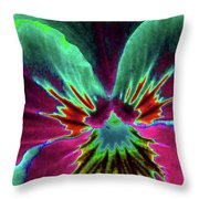 Pansy 01 - Photopower - Thoughts Of You Throw Pillow