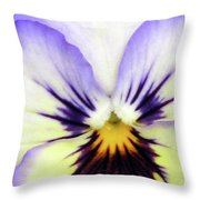 Pansy 01 - Thoughts Of You Throw Pillow