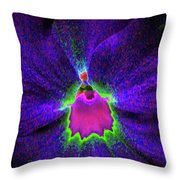Pansy 05 - Photopower - Thoughts Of You Throw Pillow
