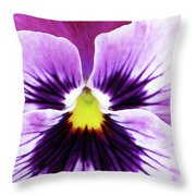 Pansy 07 - Thoughts Of You Throw Pillow