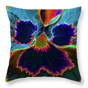 Pansy 09 - Photopower - Thoughts Of You Throw Pillow