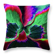 Pansy 10 - Photopower - Thoughts Of You Throw Pillow