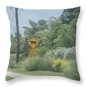 Panther Pway Throw Pillow