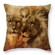 Panthera Leo 2016 Throw Pillow