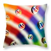 Pantone Bubbles Throw Pillow