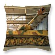 Panzer Vi Tiger Tank In Bovington, Uk Throw Pillow