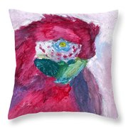 Papagallo Number One Throw Pillow