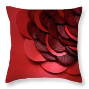 Paper And Beets Throw Pillow