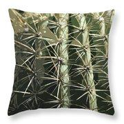 Paper Cactus Throw Pillow
