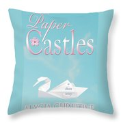 Paper Castles Throw Pillow