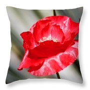 Paper Flower II Throw Pillow