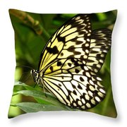 Paper Kite Throw Pillow