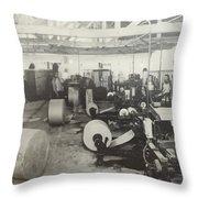 Paper Mill Throw Pillow