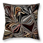 Paper Party Bells Throw Pillow