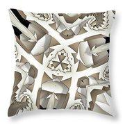 Paper Pattern Throw Pillow