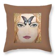 Papillon Throw Pillow
